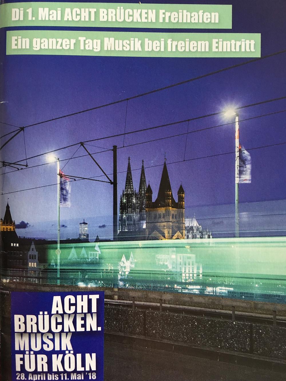 Acht Brücken Flyer 05. 2018