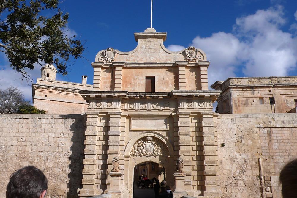 イムディーナの砦の門