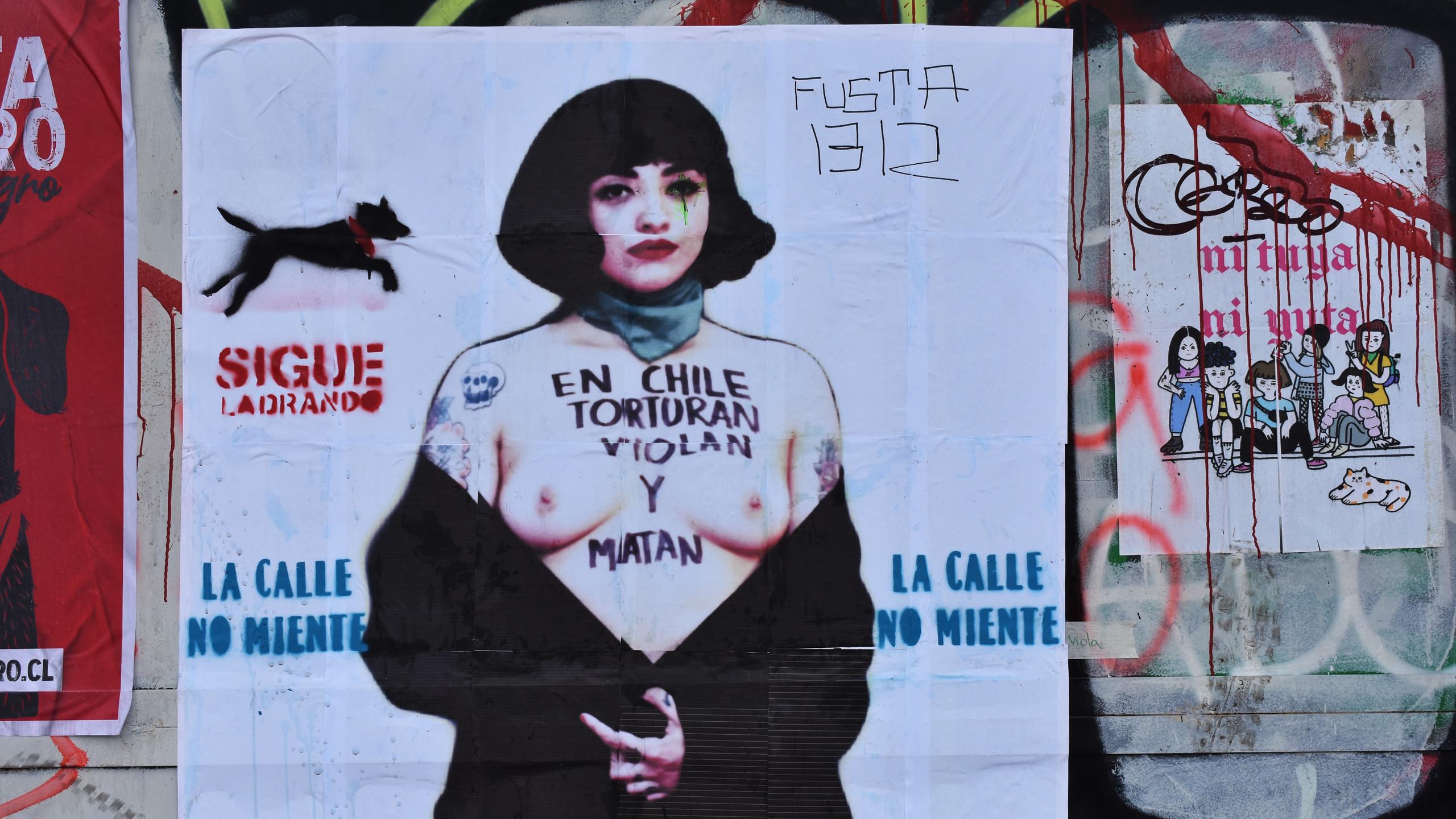 «In Cile torturano, stuprano e ammazzano»