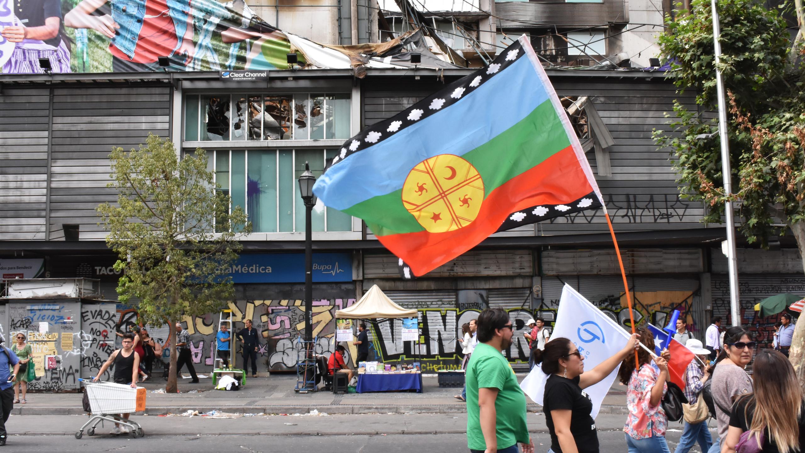 Bandiera del popolo mapuche