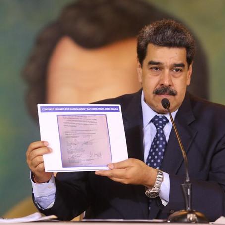 Venezuela, Maduro accusa Usa e Colombia per il tentato golpe
