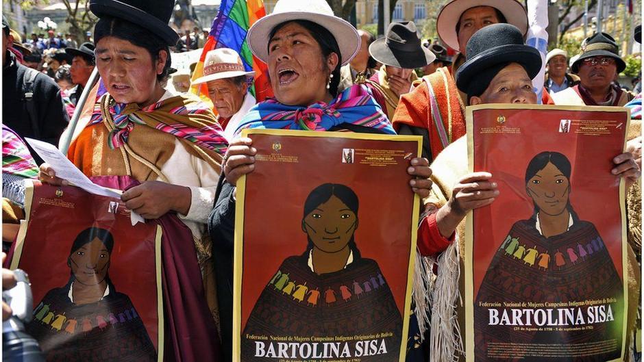 Bartolina Sisa, eroina aymara morta per l'indipendenza