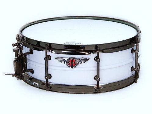 Virgin White Pearl Aluminum Snare