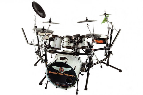PDC Drum Kit  Lexus Pearl White