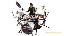 Philip Gelb, Owner of Phoenix DrumCo loves drums. Fo'real!