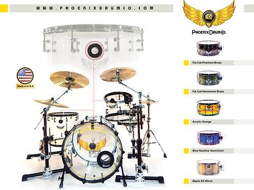 Acrylic Drum Kits w/ PDC Ghost Port®