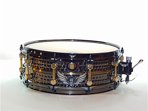PDC Hip Cat Hand Hammered Brass Snare Gold Edition