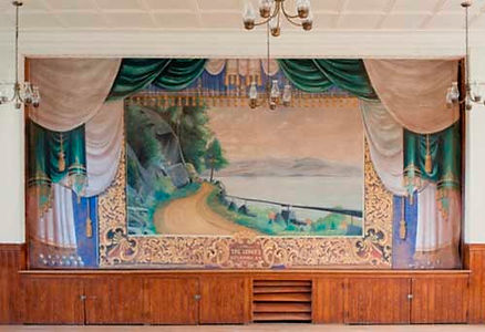 Alexandria, NH, Town Hall Grand Drape by James Duffy