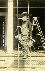 William Culver, Scenic Artist