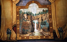 Hyde Park Opera House, VT Grand Drape by Charles Andrus