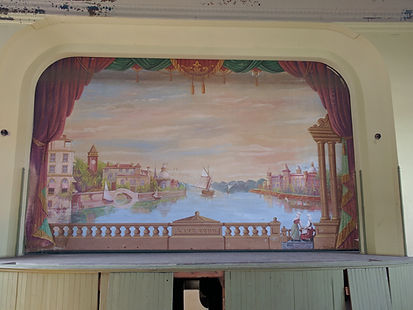 Honeoye Falls, NY Grand Drape by Frank Anderson