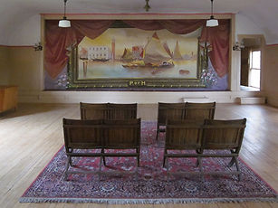 Mercer, NH, Former Grange Hall, Grand Drape by Tiffin Scenic Studios