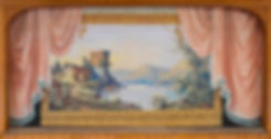 Reading, VT, Town Hall Grand Drape by O.L. Story