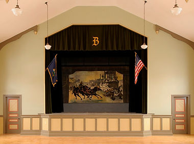 Bristol VT Town Hall Grand Drape by J. Marto