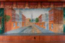 Sudbury, VT, Town Hall, Street Scene by Charles Henry
