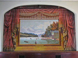 Fairlee, VT, Town Hall, Grand Drape by L.L. Graham