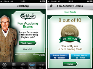 Carlsberg – Fan Academy App