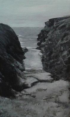 Entre deux rochers