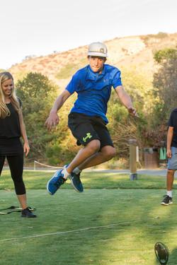 Golf Fitness Skills Evaluation.