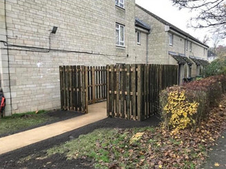 New Path and Fence - Chippenham