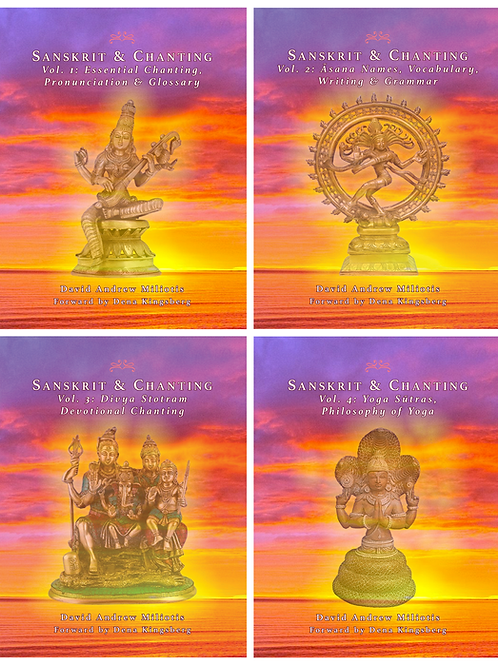 Sanskrit & Chanting MP3's Vol. 1 & 4