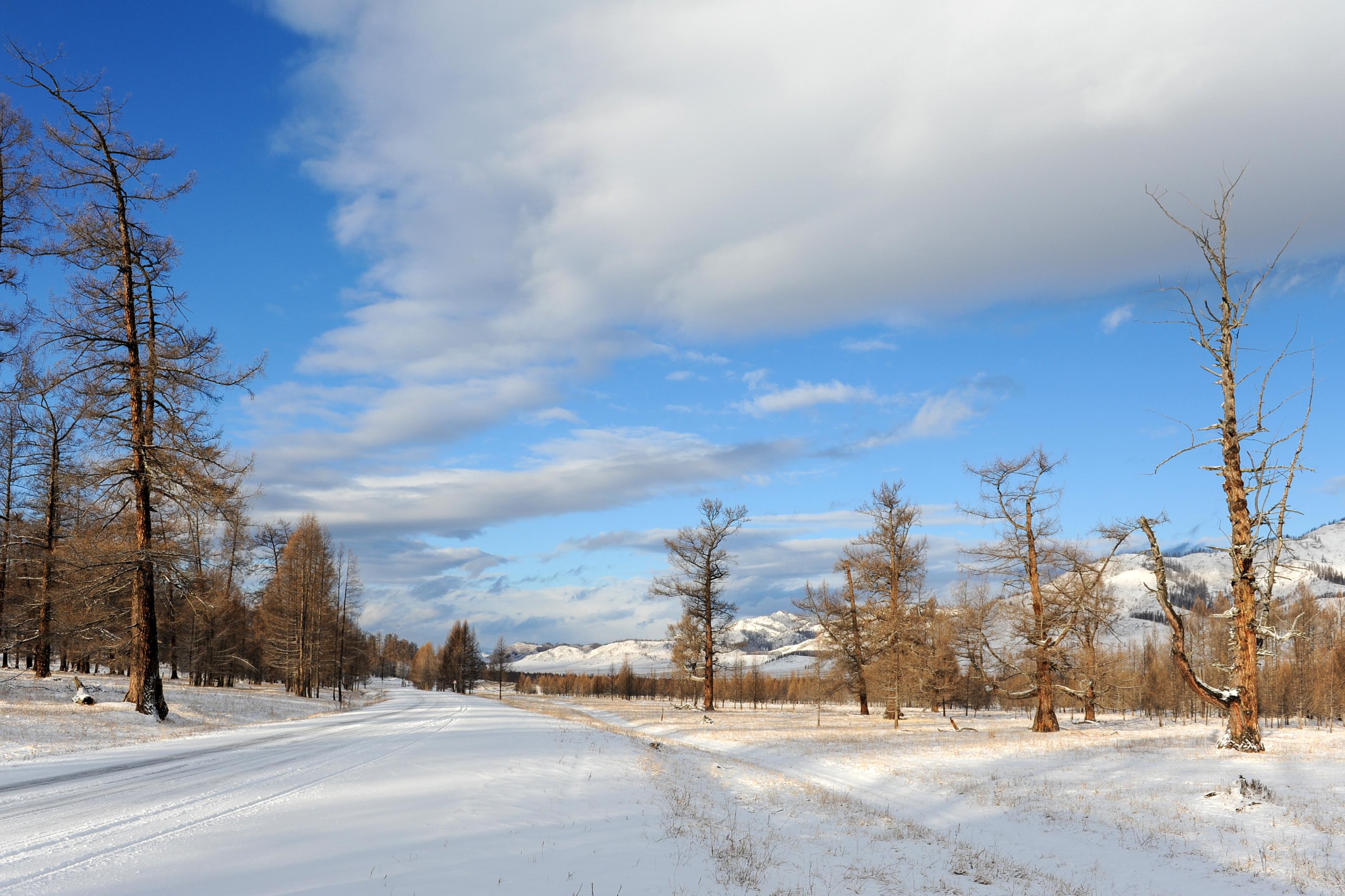 По дороге в Усть-Кан