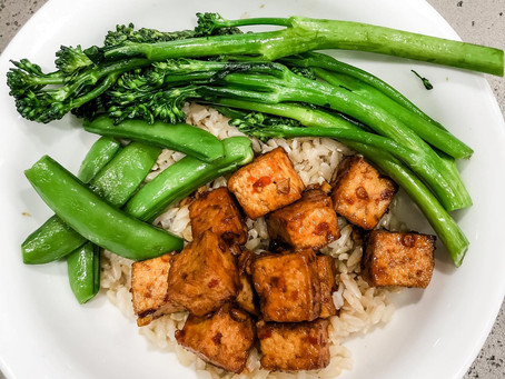 Honey Harissa Tofu