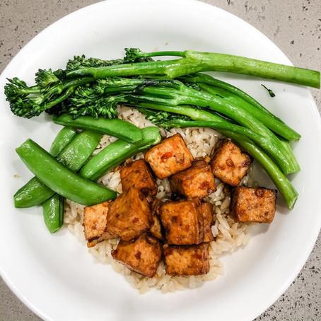 Honey Harissa Tofu