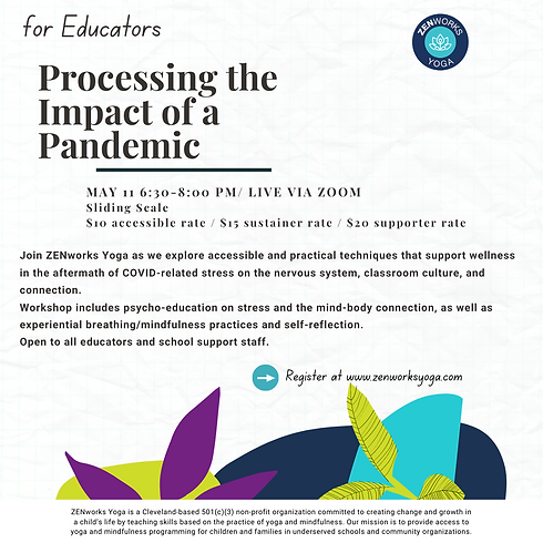 For Educators: Processing the Impact of a Pandemic