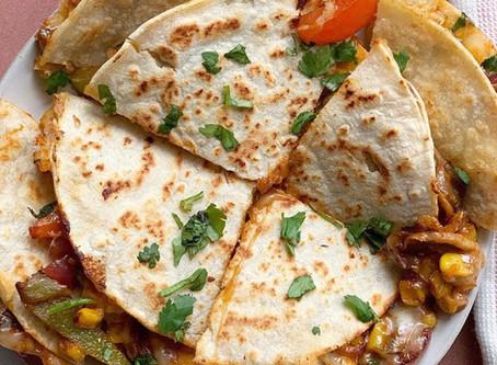 Tandoori Vegetable Quesadillas