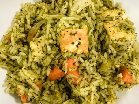 Masala Cilantro Rice
