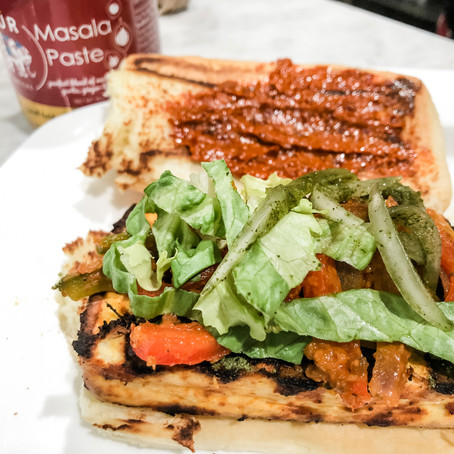 Ultimate Grilled Paneer Sandwich