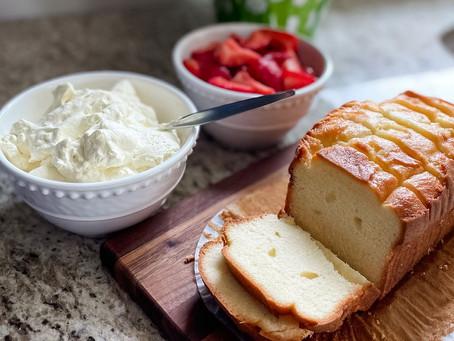 PUR Spiced Strawberry Shortcake