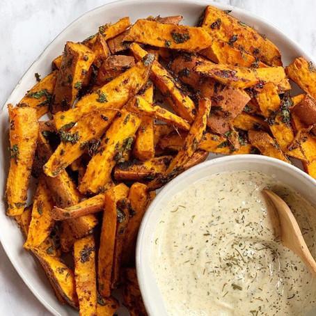 Tandoori Sweet Potato Fries