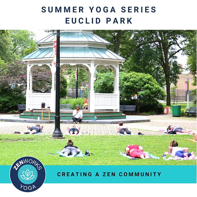Summer Yoga Series - Euclid Park