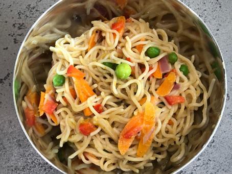 """Gluten-Free Masala """"Maggie"""" Noodles"""