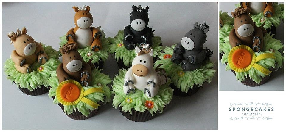 ... , Cake and Cupcake Maker based in Tewkekesbury, U | Horse Cupcakes