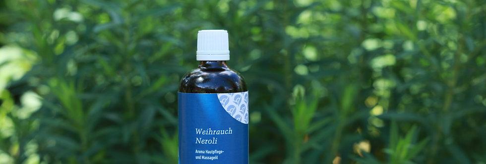 Weihrauch-Neroli Hautpflege- und Massageöl