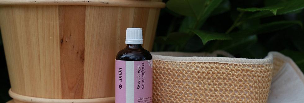Sweat Lodge sauna infusion