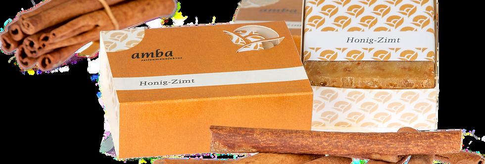 Honig-Zimt Seife