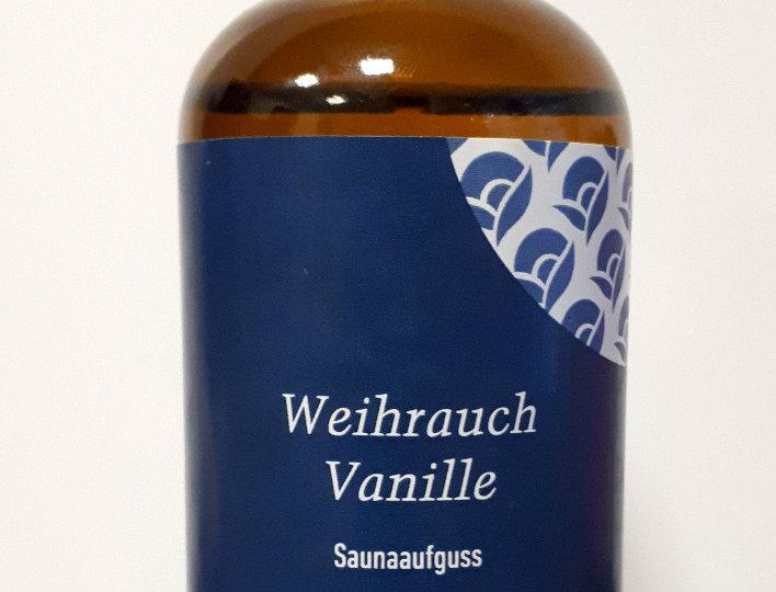 Weihrauch-Vanille Saunaaufguss