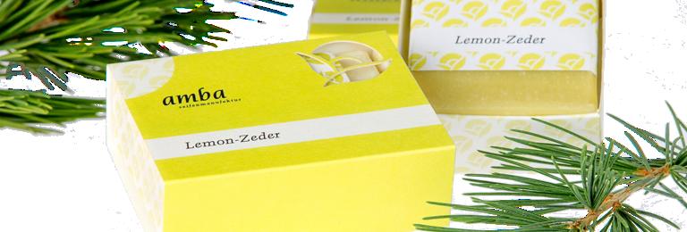 Lemon-Zeder Seife