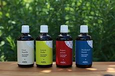 natürliche, rein pflanzliche Hautpflegeöle