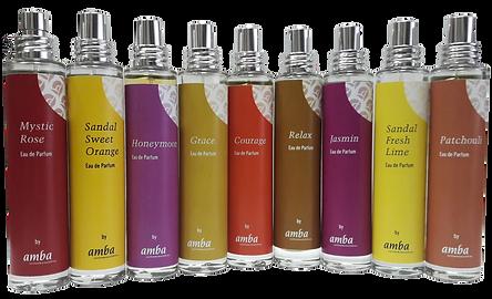Naturparfum mit ätherischen Ölen
