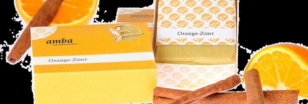 Orange-cinnamon soap