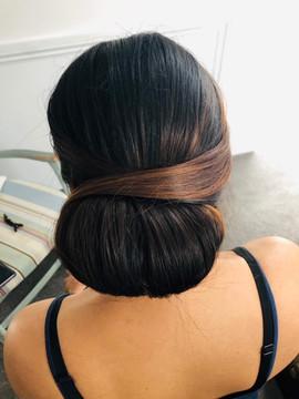Low bun
