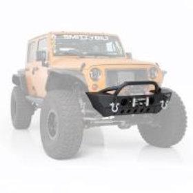 Smittybilt XRC Gen2 76807LT Front Bumper with Winch Plate (Black)