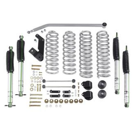 Rubicon Express 3.5 Inch Standard Coil Lift Kit with Mono Tube Shocks - RE7142M