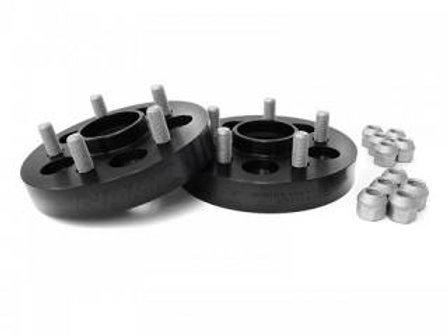 2 Perrin Wheel Spacers Black 20mm 5x114.3 - STI 2005-2015 / WRX 2015