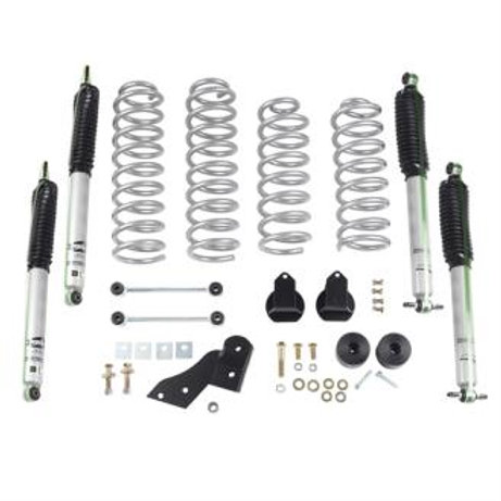 Rubicon Express 2.5 Inch Standard Coil Lift Kit with Mono Tube Shocks - RE7141M